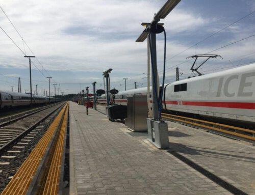 Deutsche Bahn Hamburg Langenfelde, Innenreinigungsanlage