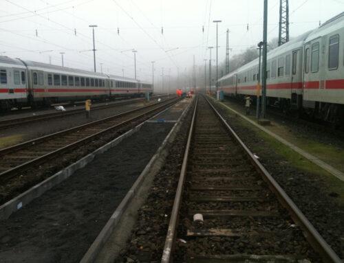 Deutsche Bahn Hamburg Langenfelde, Verkehrswegebau