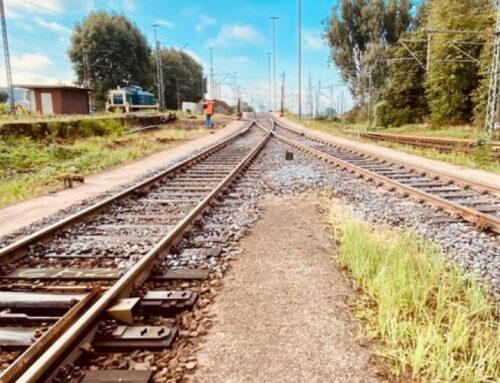 BBN Hafenbaustelle bei der HPA lässt sich von Gleisbremse nicht stoppen