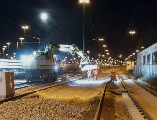 Gleis- und Weichenerneuerung im Bahnhof Hamburg Langenfelde